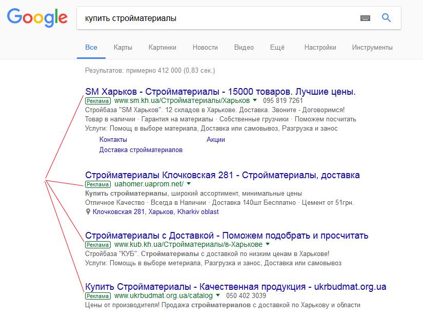 Поисковая реклама