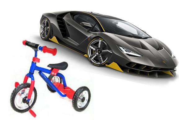 Ваши конкуренты ездят на разных машиных